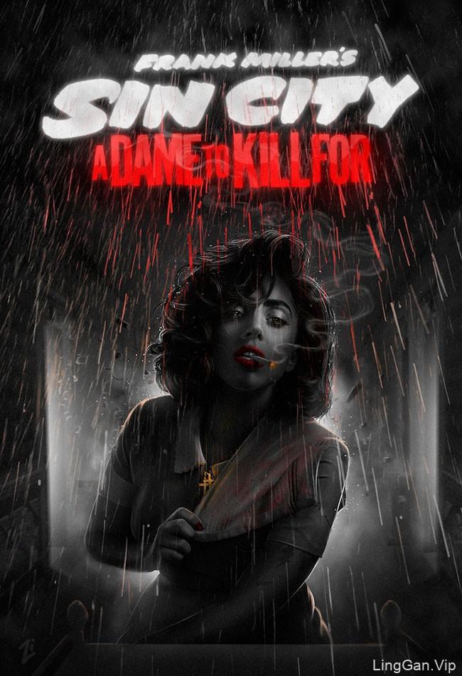 俄罗斯电影ZorikIstomin《罪恶之城2》海报封面设计