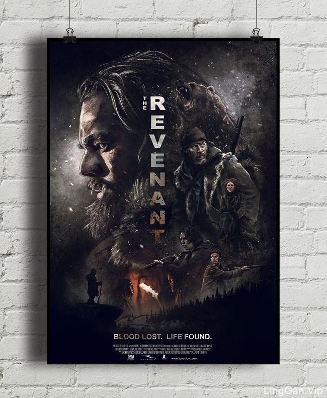 西班牙Ignacio RC 2016电影《荒野猎人》插图海报