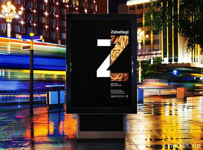西班牙圣塞巴斯蒂安国际电影节主视觉海报设计(15P)