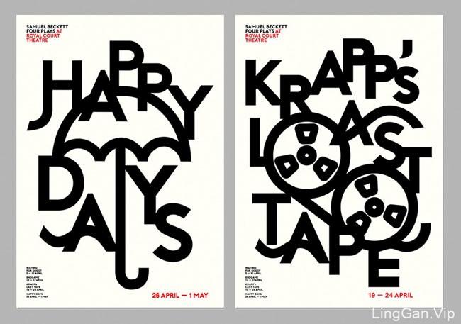 英国Jihye Lee文字创意海报-字体设计