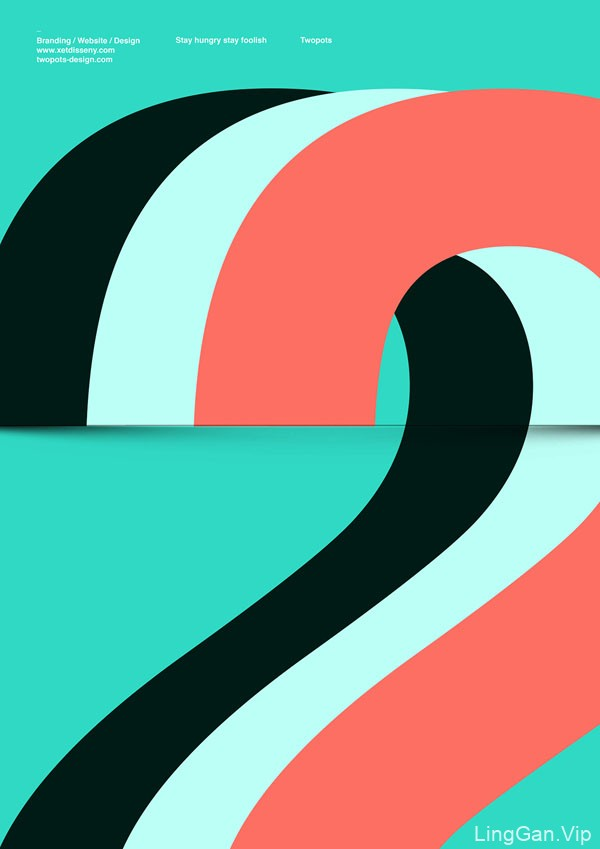 国外Xavier Esclusa极简风格图形海报创意设计