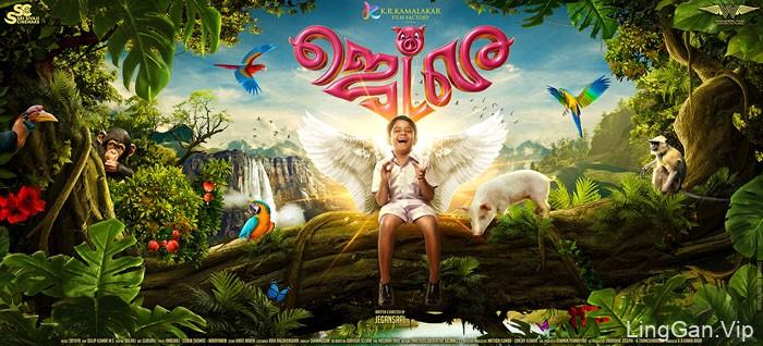 印度设计师prathool电影海报设计作品合集