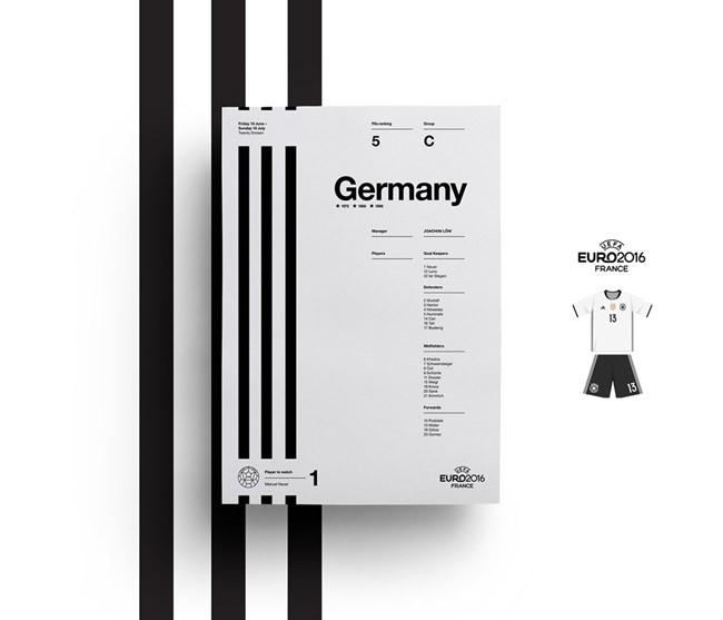35种英国JQ工作室2016欧锦赛海报设计色彩搭配方案(一)