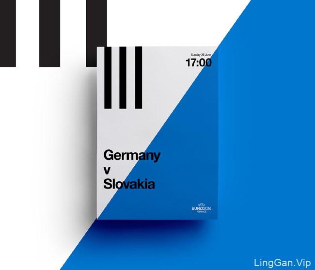 35种英国JQ工作室2016欧锦赛海报设计色彩搭配方案(三)