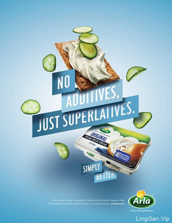国外Arla奶酪系列平面广告设计欣赏
