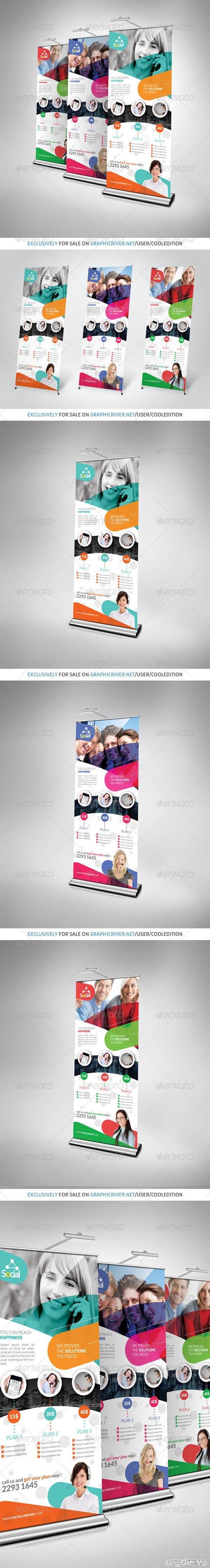 超级构图易拉宝海报之展架设计国外优秀展架设计[25组]3/3