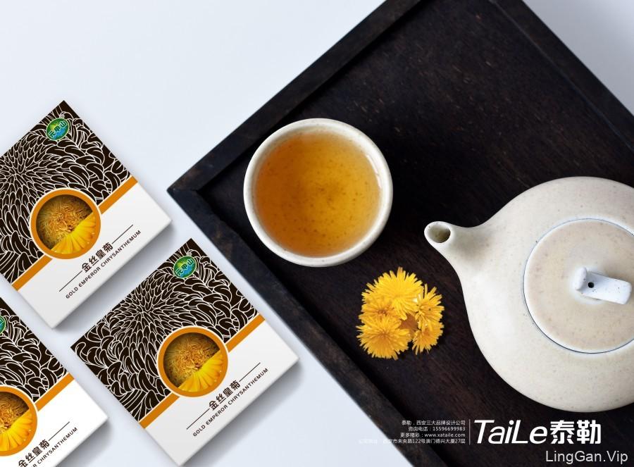 菊花茶包装设计