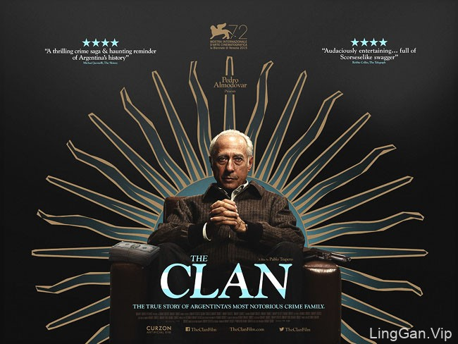 电影《The Clan》剧情海报设计10P