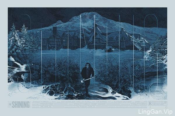 国外设计师Krzysztof优秀插画电影海报设计