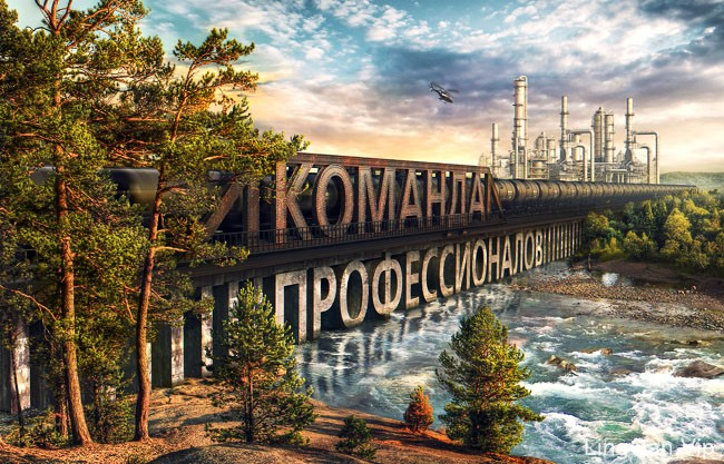 俄罗斯设计师Anton Egorov PS合成修图设计