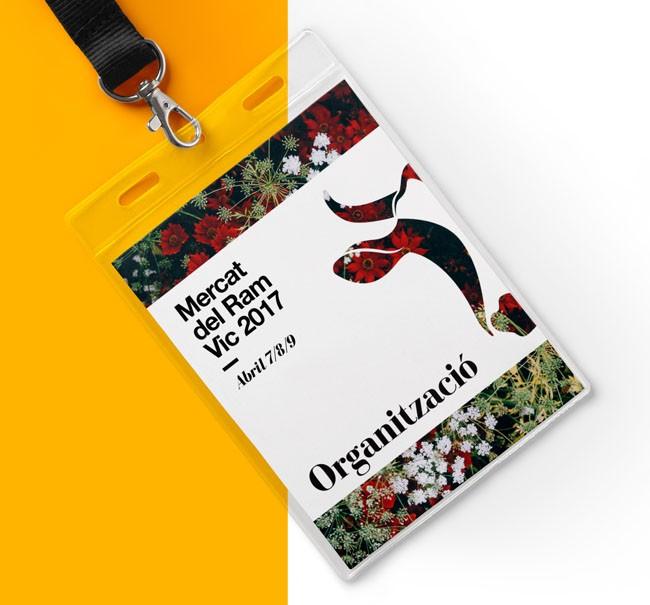 国外Mercat del Ram年度会议唯美海报设计