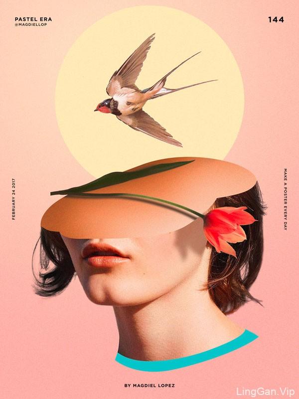 美国Magdiel Lopez个性风格海报设计作品