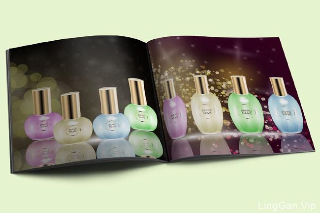 国外设计师liaGloss香水品牌产品目录画册设计