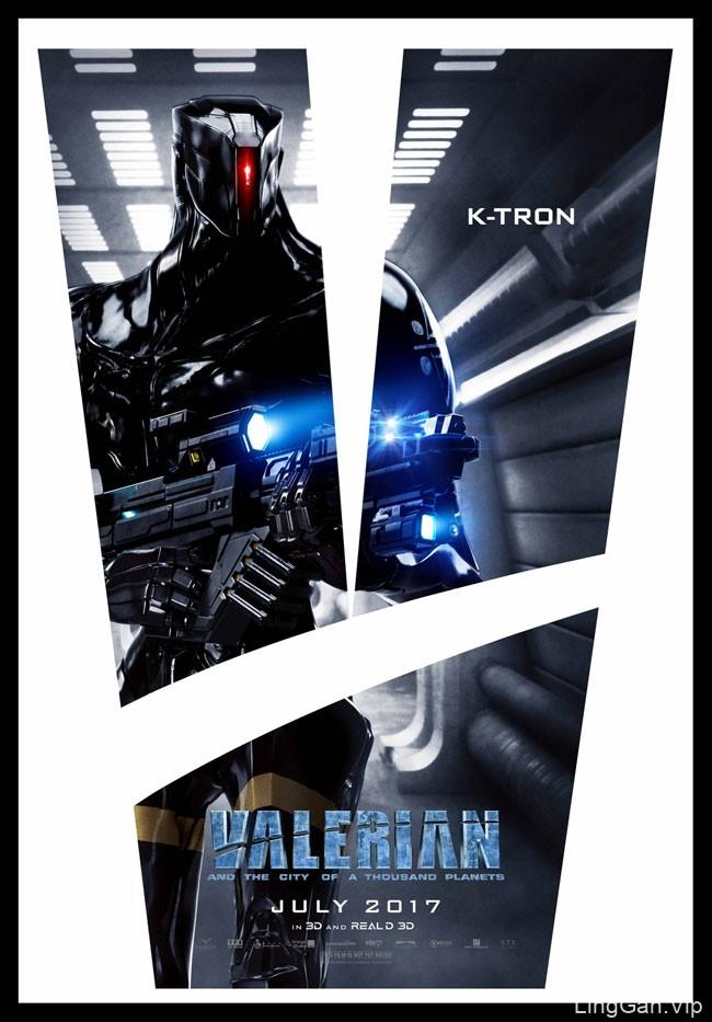 科幻电影《星际特工:千星之城》系列宣传海报设计
