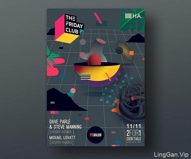 爱尔兰设计师Magda Cwik精美海报设计作品(一)