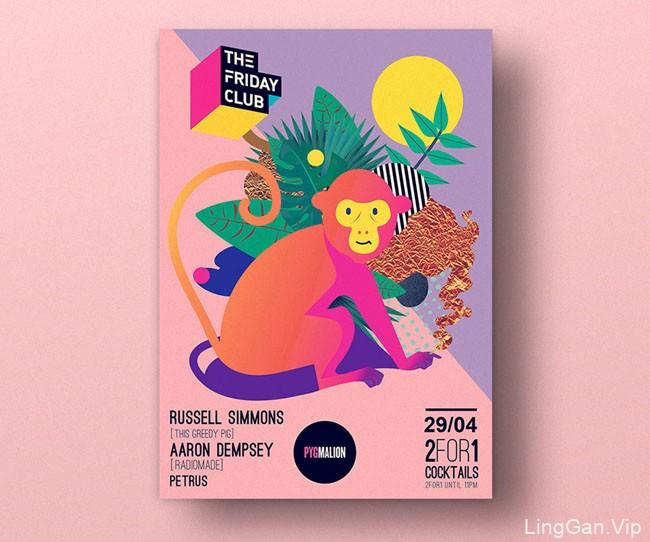 爱尔兰设计师Magda Cwik精美海报设计作品(二)