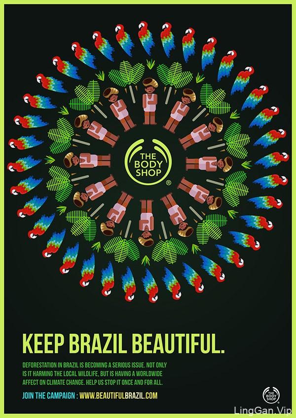 The Body Shop海报设计
