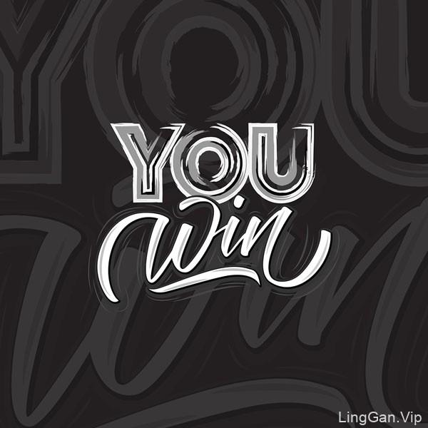 国外设计师Chi Margo手绘字体设计作品分享