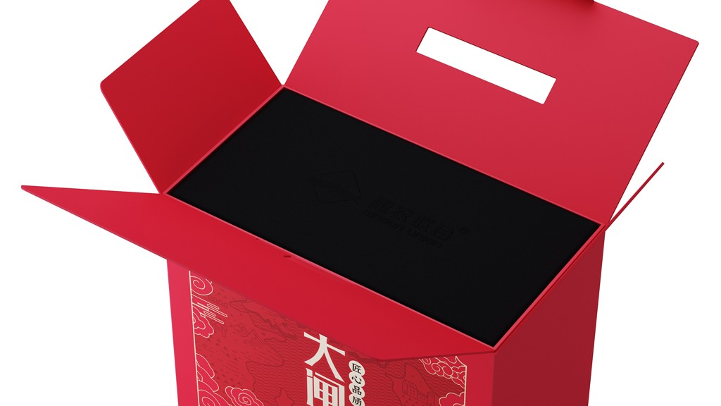 大闸蟹包装设计 大闸蟹礼品盒包装设计 海鲜水产品包装设计