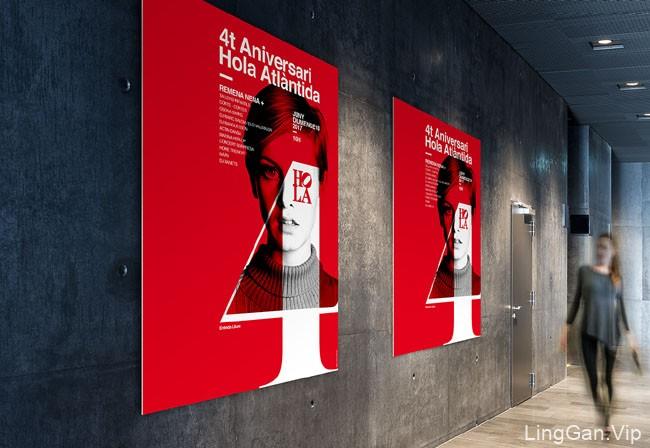国外设计师Xavier Esclusa的四款时尚海报设计A