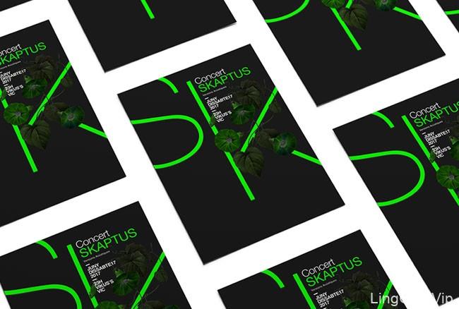 国外设计师Xavier Esclusa的四款时尚海报设计D