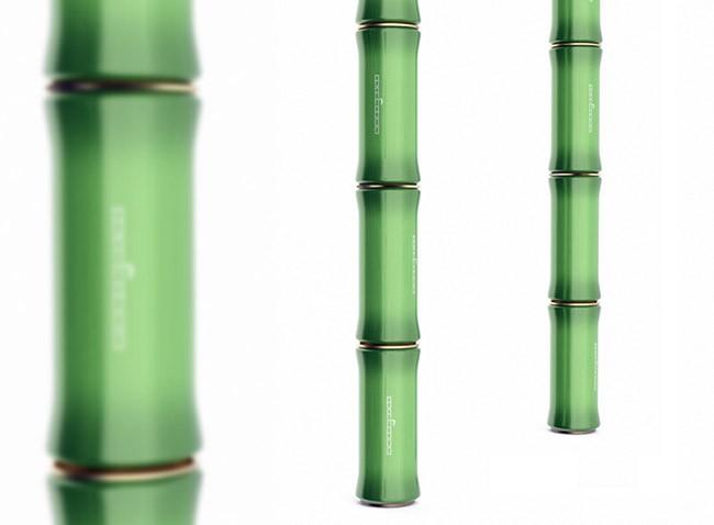 国外Bamboo饮料易拉罐概念包装设计
