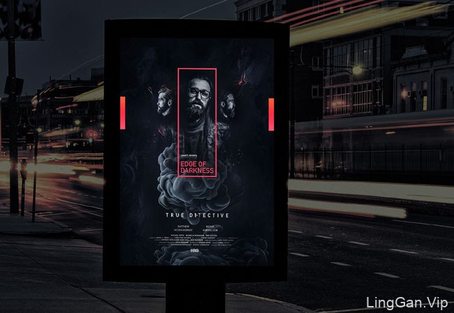 阿拉酋设计师Noyal George《黑暗边缘》海报设计
