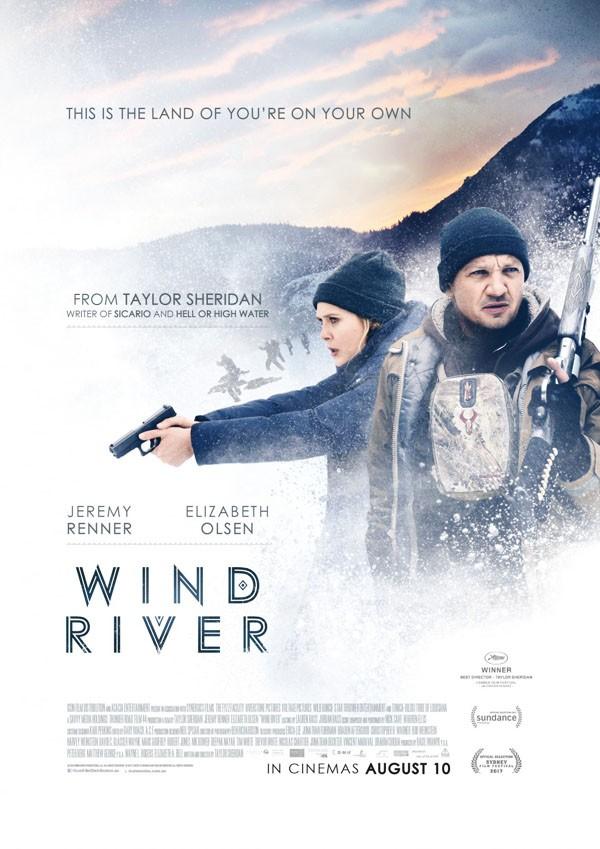惊悚电影《猎凶风河谷》电影宣传海报设计