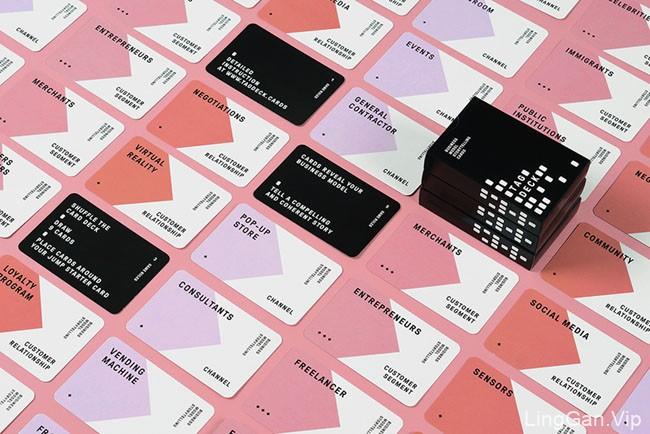 国外TAG DECK系列商务名片模版设计作品