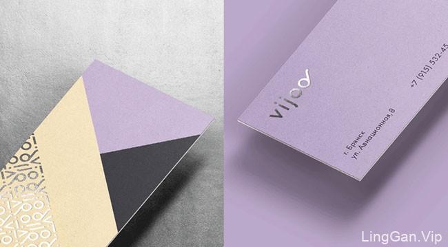 国外Vijoo眼镜品牌形象vi重塑设计