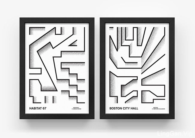 国外设计师Przemek Bizon图形类极简创意海报设计
