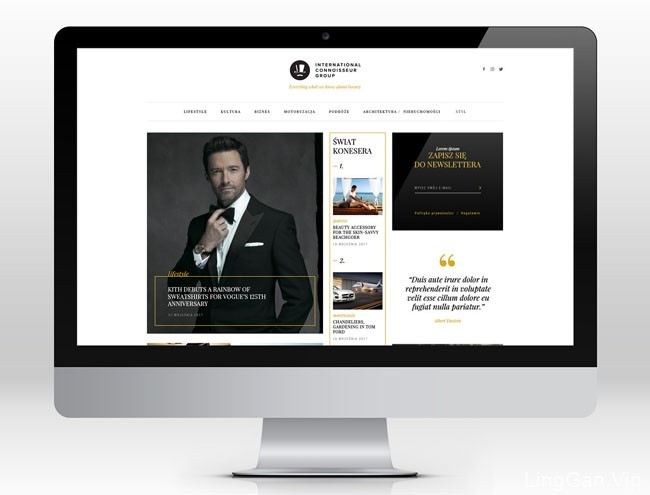 国外ICG时尚网页设计作品