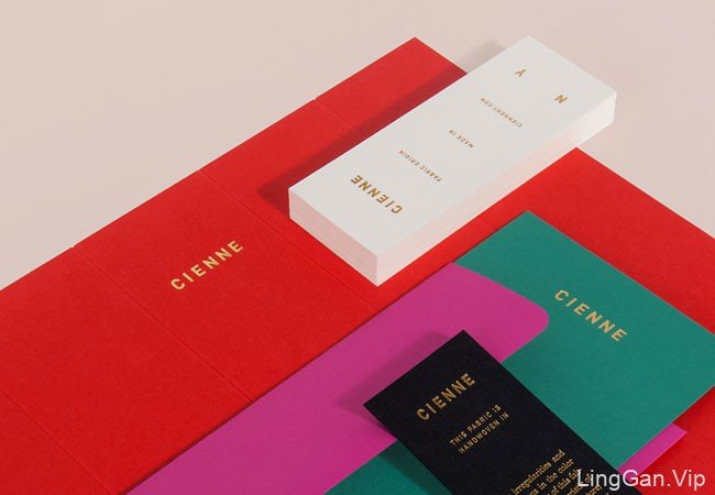 纽约Cienne高端女装品牌形象vi设计