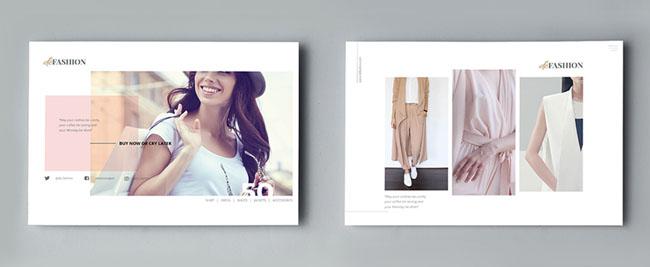 TimphanCo时尚传单模版设计NO.3