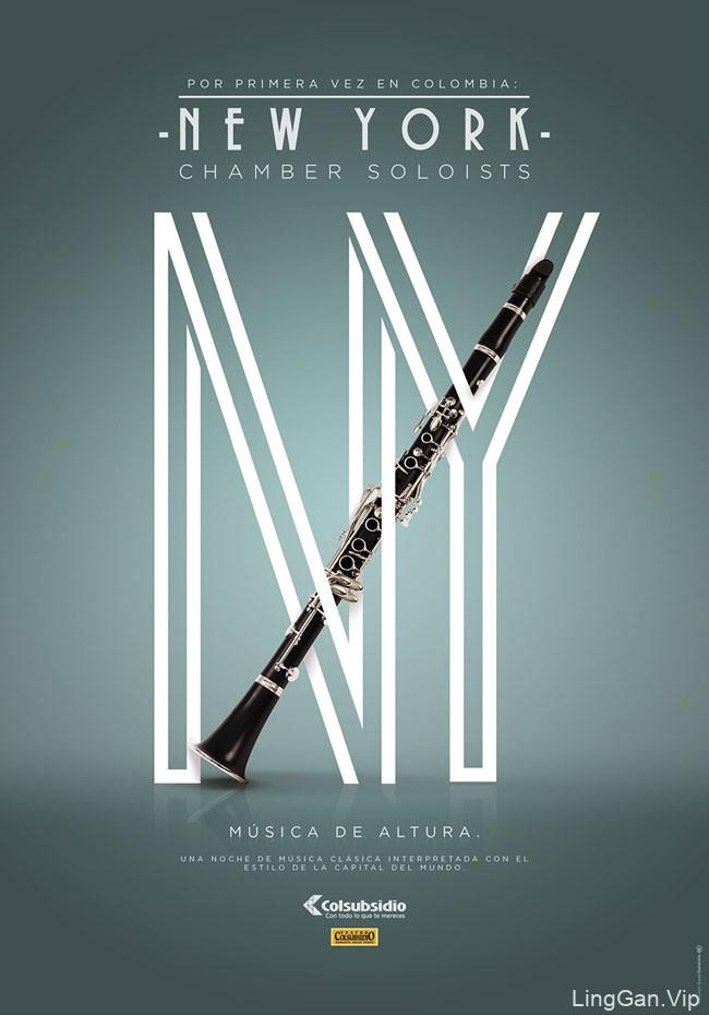 国外设计师David Martinez音乐海报设计作品