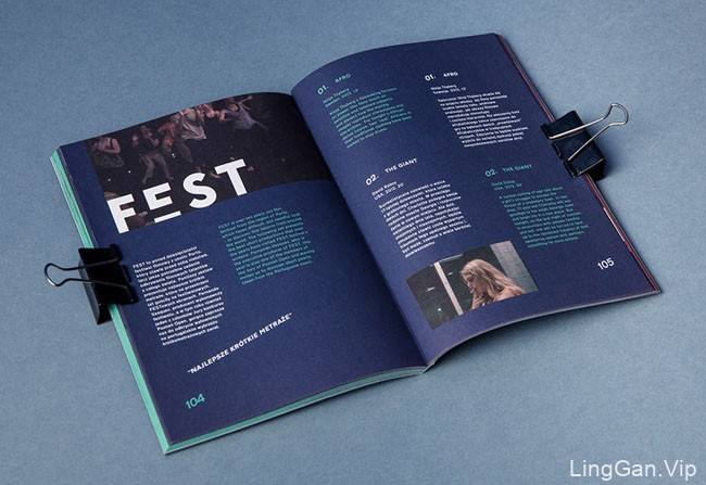 最佳波兰短片电影节视觉海报设计作品