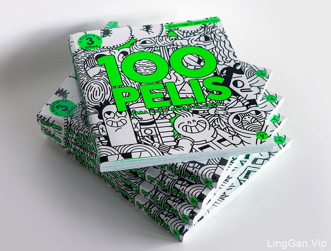 100 PELIS儿童书籍设计作品
