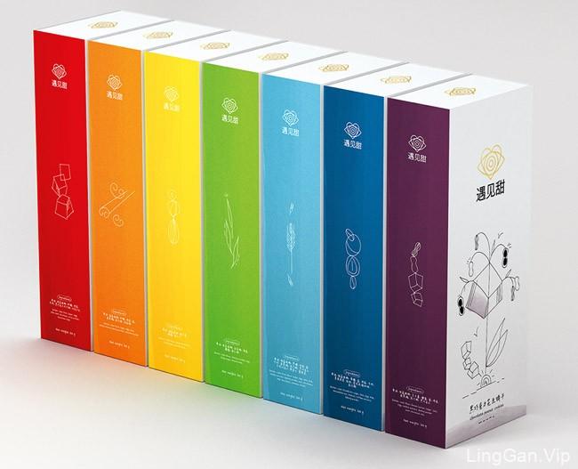 遇见甜中国手工饼干品牌包装设计作品