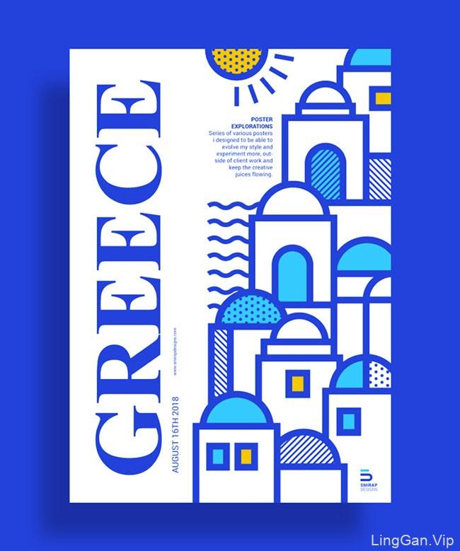 希腊Mike Karolos最新海报设计作品