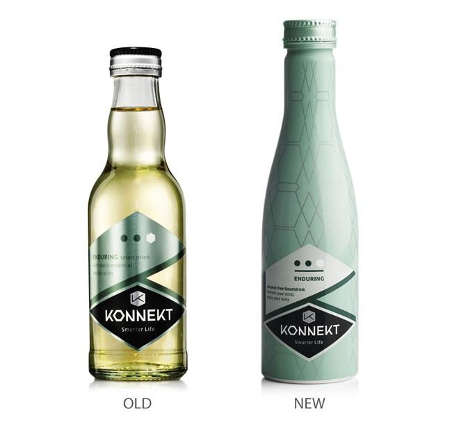Konnekt饮料全新包装设计作品