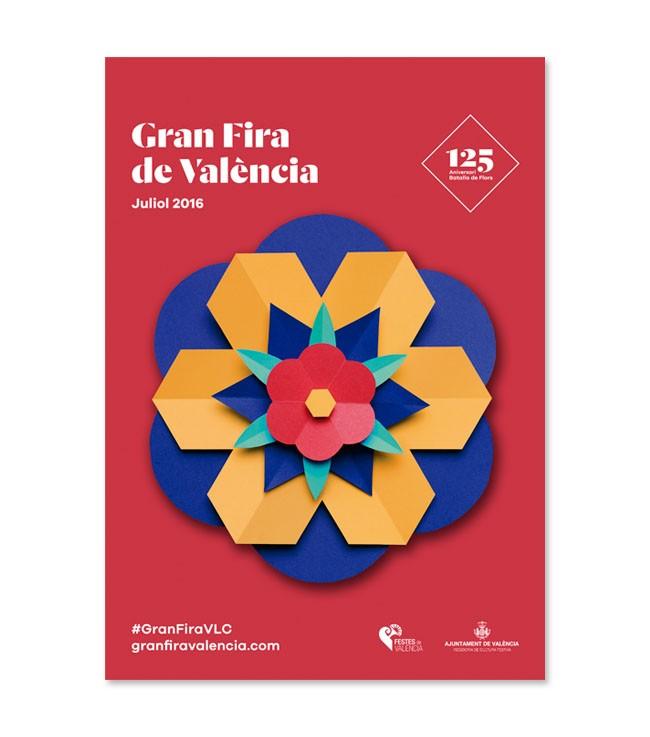 Gran Fira活动系列手工海报设计作品