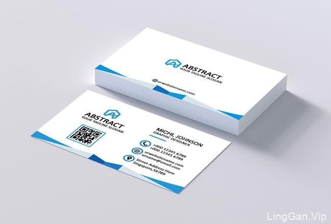 国外设计师Effat Ara商务名片设计
