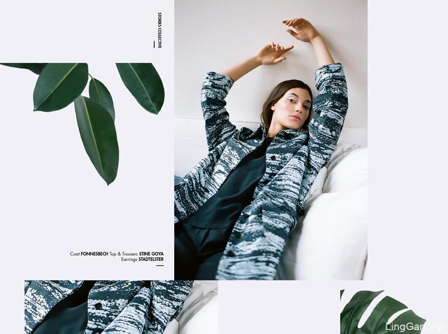 国外女装服饰海报设计作品