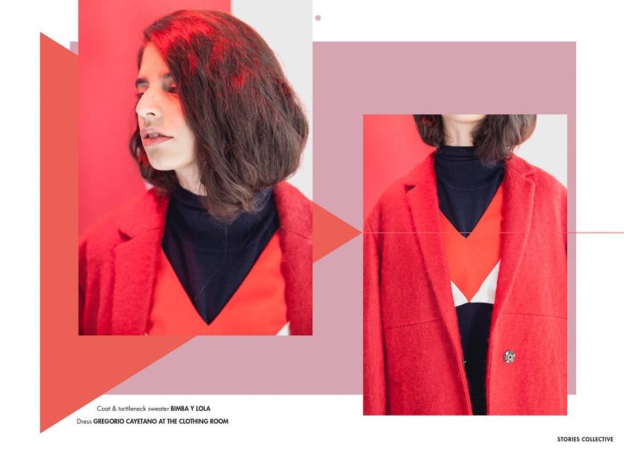 国外女装服饰海报设计