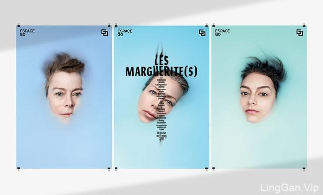 Espace GO女性剧场品牌创意海报