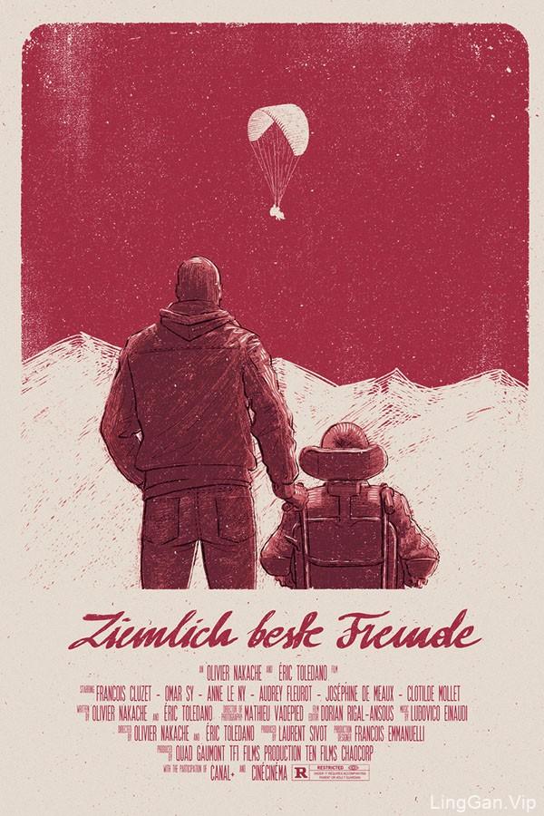 波兰设计师Bartosz Kosowski插画电影海报设计