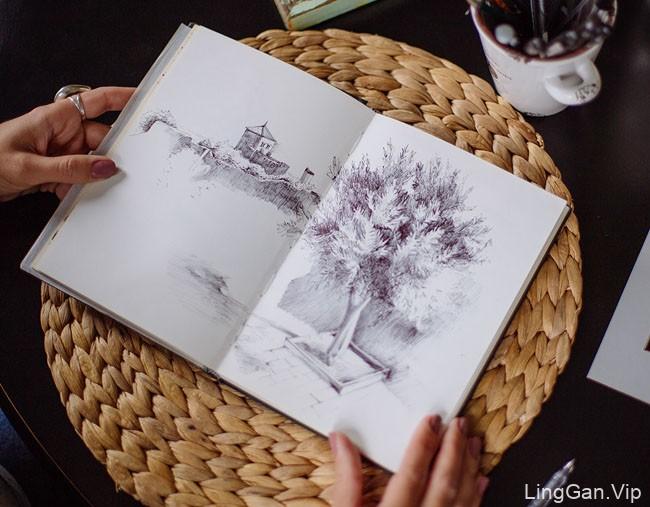 白俄罗斯Marina Gorskaya手绘插画作品NO.2