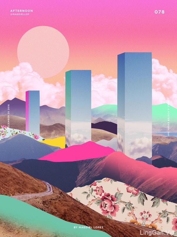 美国Magdiel Lopez概念海报设计作品NO.1