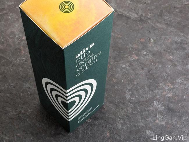Alivu特级初榨橄榄油包装设计