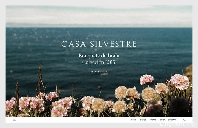 Casa Silvestre浪漫花店品牌形象设计